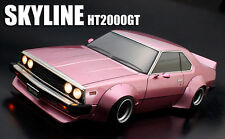 1/10 RC Car Body Shell NISSAN SKYLINE HT2000GT C210 Wide BODY W/ Light Bucket