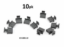 10-PACK USB 2.0 / 3.0 Port Jack Snap-In Dust Cover, CablesOnline CV-U01