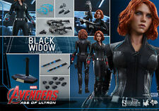HOT TOYS AVENGERS AOU AGE OF ULTRON BLACK WIDOW 1:6 FIGURE ~Sealed in Brown Box~