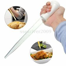 30ml Clear Tube Baster Syringe Pump Pipe For Chicken Turkey Poultry Meat BBQ New