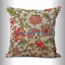 US SELLER- retro vintage floral cushion cover couch throw pillows