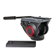 Manfrotto MVH500AH Video Inclinabile Videoneiger Videokopf Testa per treppiedi