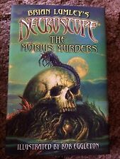 NECROSCOPE: THE MOBIUS MURDERS Brian Lumley 1st trade HC edition FINE