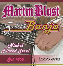 Martin Blust Tenor Banjo Saiten Set 1450 - 5-saitig
