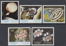 Sharjah 1972 ** Mi. 1000/04 A Weltraum Space Planetensystem Planetary System