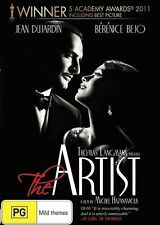 The Artist  DVD BRAND NEW SEALED TOP 250 MOVIES BEST PICTURE Jean Dujardin R4