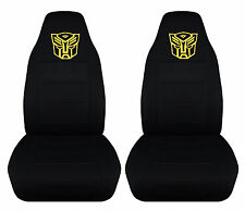 cool set of autobot front car seat covers black,more colors you can choose from