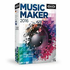 MAGIX Music Maker 2016 - NEU & OVP