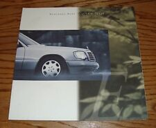 Original 1994 Mercedes-Benz E Class Deluxe Sales Brochure 94