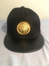 Versace Black Cap Fits All