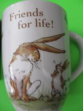 FRIENDS FOR LIFE from Guess How much I love you graphics book COFFEE MUG rabbit