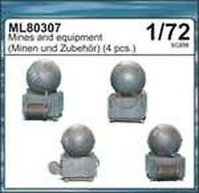 CMK Maritime ML80307 1/72 Resin WWII German Mines and Equipment