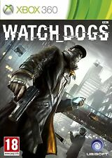 Watch Dogs Microsoft Xbox 360 +VGC+ FREE 1ST CLASS UK DELIVERY+ A TRUSTED SELLER