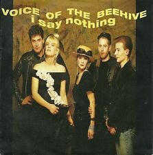 """Voice of the Beehive - I say Nothing (1987) GERMANY 7"""""""