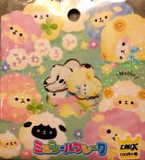 Kawaii CruX Sheep Sticker Flakes Sack 42 Stickers