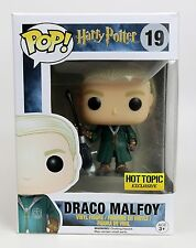 Harry Potter Draco Malfoy Quidditch Hot Topic Exclusive FUNKO Pop Vinyl Figure