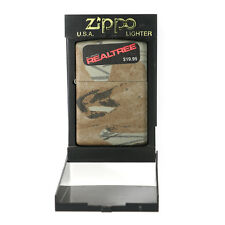 Brand New Zippo Lighter - HARD WOOD CAMOUFLAGE LIGHTER