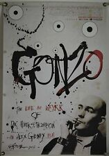 GONZO LIFE AND WORK OF DR. HUNTER S. THOMPSON ROLLED ORIG 1SH MOVIE POSTER(2008)
