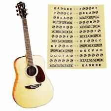 Label Fret 1pc Guitar Fretboard Note Sticker Musical Scale Beginner Decal Learn