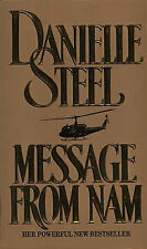 Danielle Steel Message from Nam Very Good Book