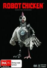 ROBOT CHICKEN Season Two Uncensored  [2 disc]  DVD R4 New / Sealed