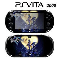 Vinyl Decal Skin Sticker for Sony PS Vita Slim 2000 Kingdom Hearts 1