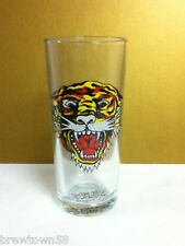 Ed Hardy artist drink glass tiger cocktail beer mixed drink glasses 1 series OM7