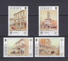 JERSEY, EUROPA CEPT 1990, POST OFFICE BUILDINGS, MNH
