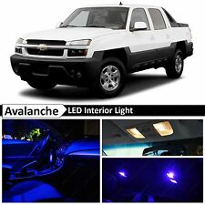 20x Blue LED Lights Interior Package Kit 2002-2006 Chevy Avalanche