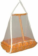JACK & JILL  Baby Happy Cradle With Top Swing Jhula With Mosquito Net