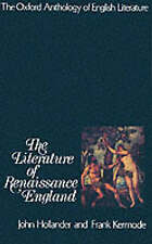 Literature in Renaissance Engl and