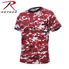 Rothco Military Camouflage T-Shirts - Available in 20 Colors