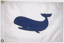 Sperm Whale Hand Sewn in the USA Best Quality Boating Flag