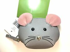 100% Authentic Kate Spade CAT'S MEOW MOUSE Coin Purse Wallet Limited