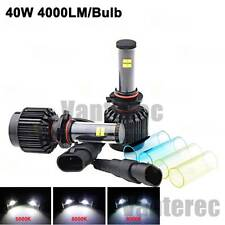 Cree LED Headlight Kit Hi/Lo Beam Bulbs 9004 HB1 5000K 6000K 8000K 80W 8000LM