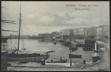cartolina GALLIPOLI veduta del porto (mezzogiorno)