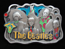 OC01175 COOL *NOS* VINTAGE 1994 **THE BEATLES** BAND MUSIC PEWTER BELT BUCKLE