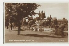Hereford Cathedral and River Wye, Judges 23384 Postcard, A869
