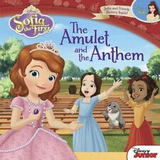 Disney Carry-Along Story Books Sofia the First: the Amulet and the Anthem by...