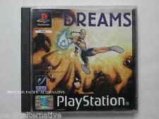 jeu DREAMS playstation 1 ps1 ps one en francais spiel juego action magie complet