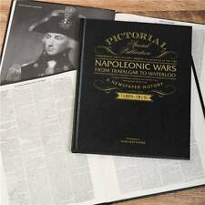 Napoleon Wars Personalised Pictorial Historic Newspaper Book Retirement Birthday