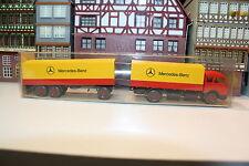 MB 1632 Fernlastzug von Merecedes-Benz in OVP (Wiking/F 85, NL 5, Bi 4