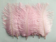 5''-8'' Long Ostrich Feathers Wedding Decoration Costume Party Craft Mask Hat