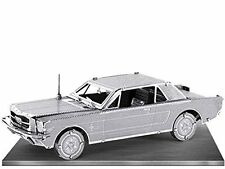 1965 Ford Mustang: Metal Earth 3D Laser Cut Car Miniature Model Kit 2 sheets