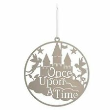 Once Upon A Time - Large Laser Cut Round Wall Decoration - Childs Bedroom Gift