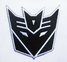 """Black TRANSFORMERS Autobot Primus embroidered badge Patch 7x7.5 cm 2.75""""x3"""""""