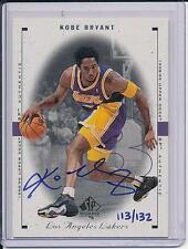 KOBE BRYANT  1999-00 SP AUTHENTIC BUY BACK BLUE AUTO SIGNED ON CARD /132