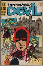 DEVIL corno # 9 IL DUCA DI LICHTENBAD silver surfer l' incredibile NO RESA