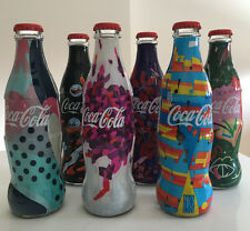 Coca Cola Serbia Limited Edition 6 Glass Bottles Complete Set 250ml Fashion