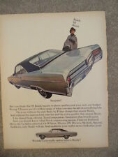 VINTAGE 1965 BUICK LE SABRE AD-NOT A REPRODUCTION